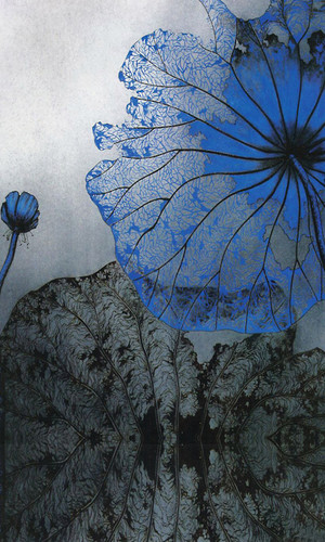 Blue Lotus Backdrop