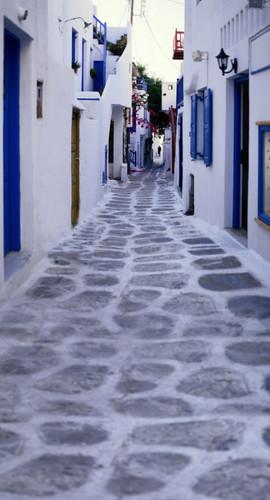 Greek Street Photography Backdrops