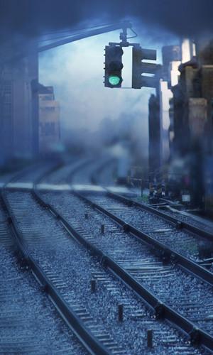 Misty Tracks Photography Backdrops