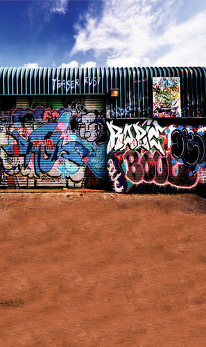 Graffiti Wall Photography Backdrops