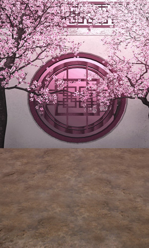Cherry Tree Wall Backdrop
