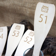 Engraved wooden 'Table Number' Spatulas