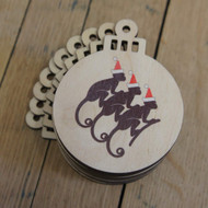 Wooden Christmas Decorations - ideal for seasonal gifts