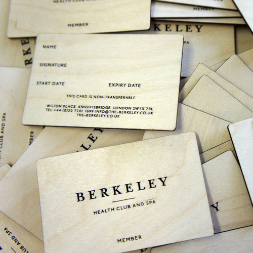 Wooden business cards engraved birch plywood wooden engraved business cards birch ply business cards with double sided engraving colourmoves