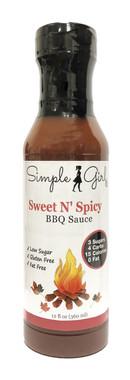 Simple Girl Sweet N'Spicy BBQ Sauce