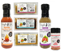 Looking for the perfect condiments that are organic, low-sugar and gluten-free? Try our top-selling sugar-free sauce and dressing gift set today!