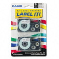 Casio XR9WE2S Label