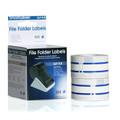 SLP-FLB blue file folder labels