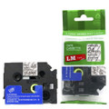 Compatible TZe151 Black On Clear P-touch Tape 24mm