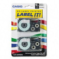 Casio XR12WE2S Labels