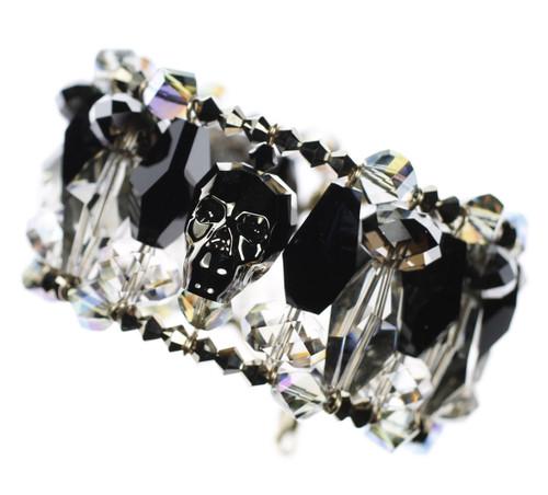 crystal skull bracelet