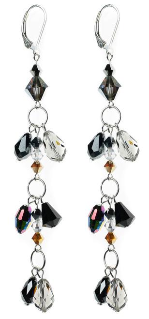 Rare Swarovski crystal earrings by Karen Curtis