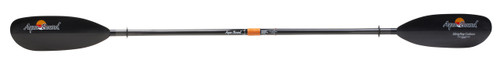 Aquabound Sting Ray Kayak Paddle - Carbon Blade with 2-Piece Carbon Shaft with Posi-Lok