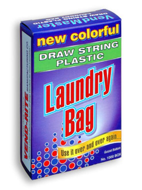1000 75¢ Laundry Bags Vending 24X28 W/6 Guss