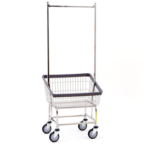 Front Load Cart With Double Pole Rack