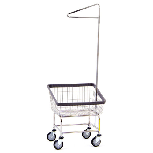 Front Load Cart With Single Pole Rack