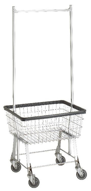 Economy Cart With Double Pole Rack