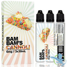 BAM BAM'S CANNOLI 90ML (MSRP $25.00)