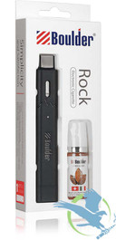 Boulder Rock E-cig with American Blend Tobacco E-Liquid *Drop Ships* (MSRP $14.00)