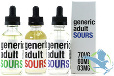 Generic Adult Sours E-Liquid 60ML (MSRP $25.00)