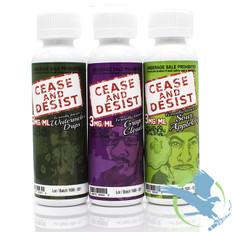 Cease and Desist E-Liquid 60ML *Drop Ships* (MSRP $16.00)