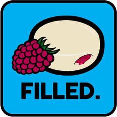 Raspberry Filled Glazed Donuts 100ml (MSRP $45.00)