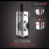 Kanger CLtank Sub Ohm Tank With Child Lock 4ML (MSRP $25.00)