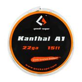 Kanthal A1 Spool 22GA By GeekVape 15Ft (MSRP $7.00)