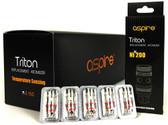 Aspire Triton Nickel Coils 5PK (MSRP $25.00)