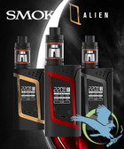 Smok Alien 220W TC Kit with TFV8 Baby Tank - NEW COLORS (MSRP $90.00)