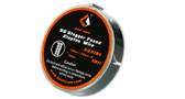 """Geek Vape """"SS Stagger Fused Clapton Wire"""" [SS316L (26ga + 32ga)*2 + 32ga] 10ft 1pc (MSRP $12.00)"""