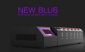 New Efest LUC Blu6 LCD Intelligent Charger (MSRP $55.00)