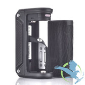 Therion DNA166 Box Mod Black Frame + Carbon Fiber By Lost Vape (MSRP $160.00)