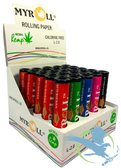 MyRoll Pre-Cut Papers Assorted Color Tubes - Pack of 25 *Drop Ships* (MSRP $113.00)