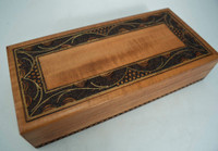 Etched Jewelry Box