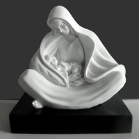 """Mother Mary"" Sculpture Timothy Schmalz"