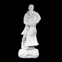"""Standing Holy Family"" Sculpture, Timothy Schmalz"