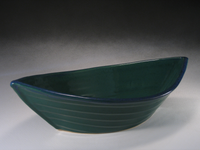 Green & Blue Dory Bowl