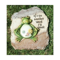Frog Garden Stepping Stone