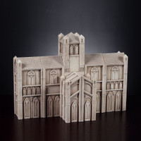 Cathedral Pillars Hand Carved Nativity
