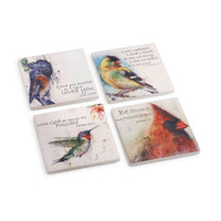 "Dean Crouser's ""Birds Of Faith"" Coaster Set of 4"
