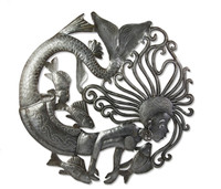 Sea Syron Hand Crafted Metal Wall Art