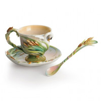 Swan Lake Cup/Saucer/Spoon