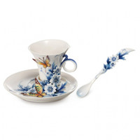 Forever Wedding Cup/Saucer/Spoon