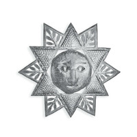 Sun Shield Hand Crafted Metal Wall Art