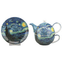 Van Gogh Starry Nights Tea For One