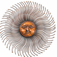 Sun Rays Wall Decor 41""