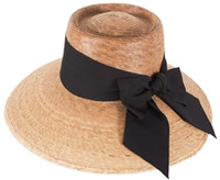 Joliet Black Bow Tula Hat