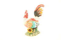 Rainbow Rooster Jewelry Box with Necklace