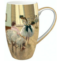 Degas The Dance Lesson Latte Mug